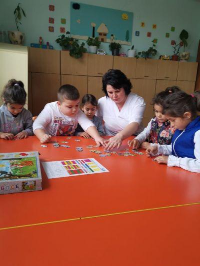 6-та група с. Подгорица - ДГ №9 Приказка - Детска градина в град Търговище