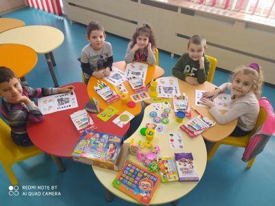 1-ва група - ДГ №9 Приказка - Детска градина в град Търговище